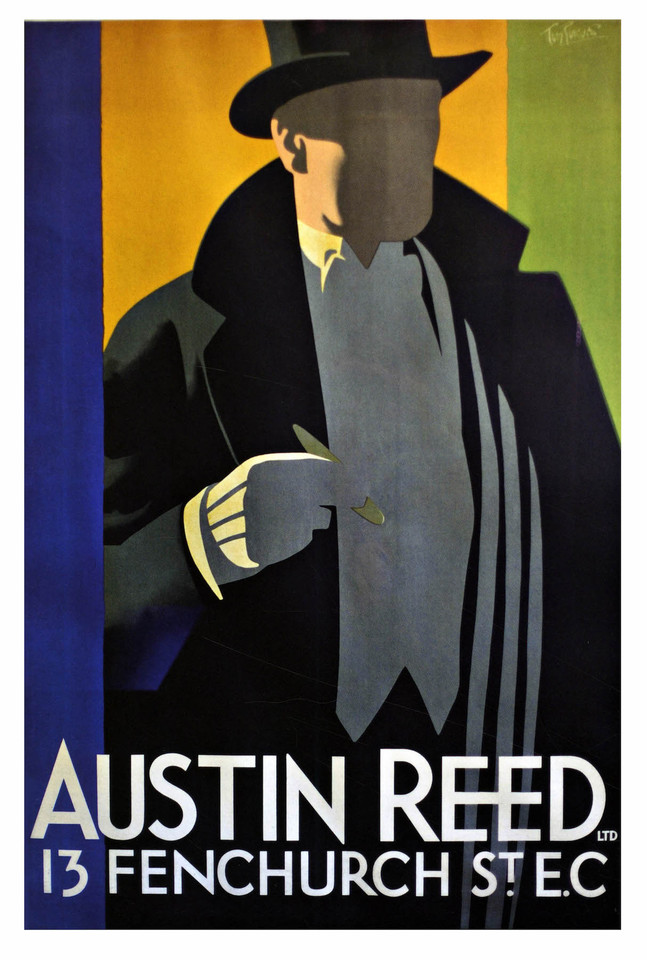 Vintage Advertising Poster Austin Reed Classic Canvas Paintings Vintage Wall Posters Stickers Home Decor Gift Painting Calligraphy Aliexpress