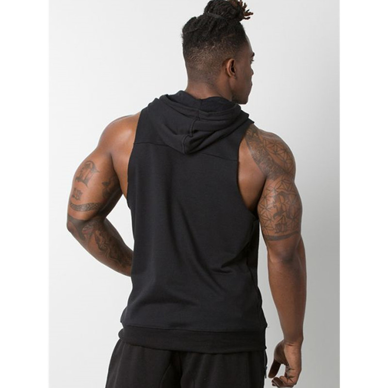 Tank Top Men Stringer Workout Vest gym (14)