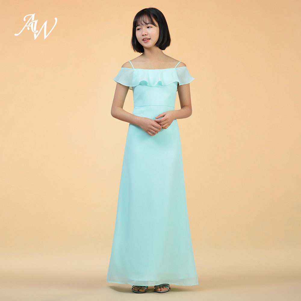 AW Perpetua Vintage Junior Bridesmaid Dress Girl s Dress Floor Length-in Bridesmaid  Dresses from Weddings   Events on Aliexpress.com  cbe9482bb369