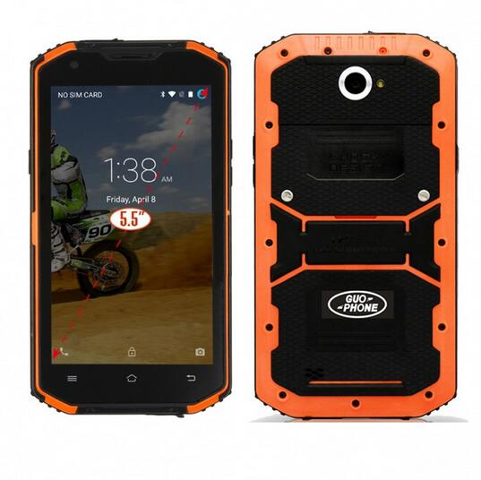 Guophone V13 IP68 waterproof shockproof Outdoor 4G Smart phone 5 5 Android 5 1 2GB 16GB