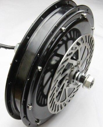 Moteur de moyeu sans engrenage sans brosse de haute qualité 48 V 500 W/moteur de roue arrière de vélo électrique
