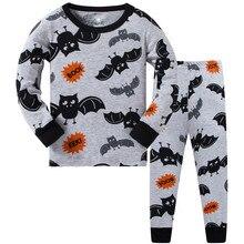 Autumn winter Boys pajamas long sleeve boys sleepwear cotton pyjamas children cartoon crocodile kids pajama sets for 3-8y