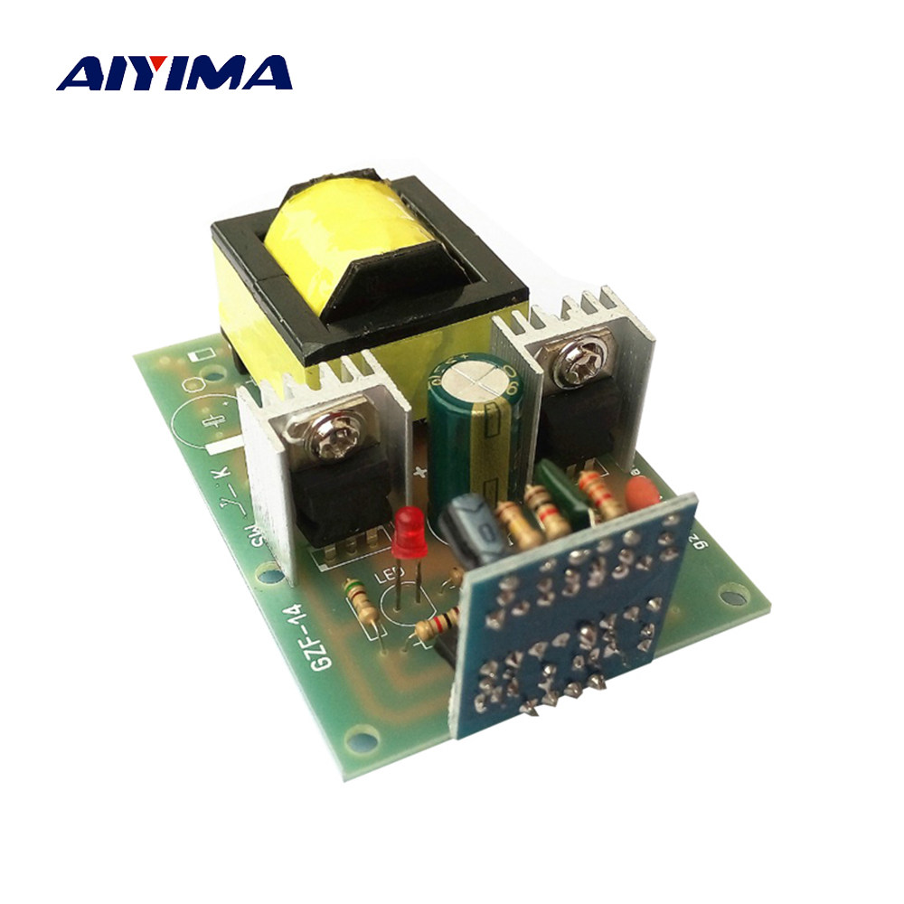 Online Shop Aiyima 1pc Inverter New Dc To Ac 12v 220v Micro How Make A Simple Circuit Board 150w Tl494 Drive Booster For Students