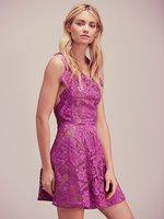 ผู้หญิงรักสีสีม่วงGiannaผ้ากัน