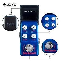 Joyo JF-313 아이언 맨 시리즈 오래된 학교 왜곡 전기 기타 효과 페달 트루 바이 패스