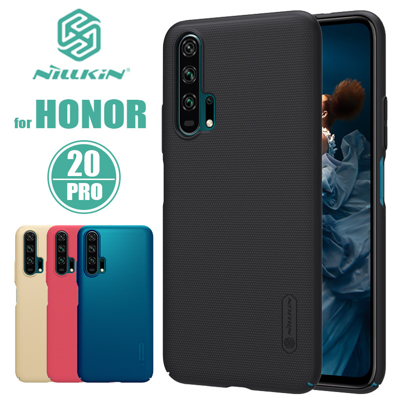Huawei Honor 20 Pro Case Nillkin Super Frosted Shield Hard Ultra-Thin Back Cover Case for Huawei Honor 20 Pro Nilkin Phone Case
