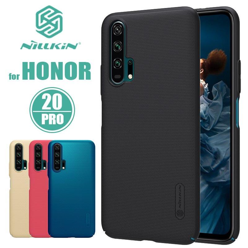 Huawei Honor 20 Pro étui Nillkin Super givré bouclier dur Ultra-mince couverture arrière étui pour Huawei Honor 20 Pro Nilkin coque de téléphone