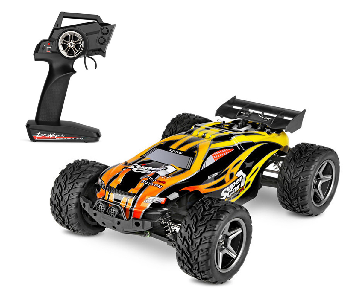<font><b>WLtoys</b></font> <font><b>12404</b></font> RC Racing Car 45km/h 1:12 4WD RC Crawler 2.4GHz 2CH Splashproof Dustproof RC Drift Funny Outdoor Toys image