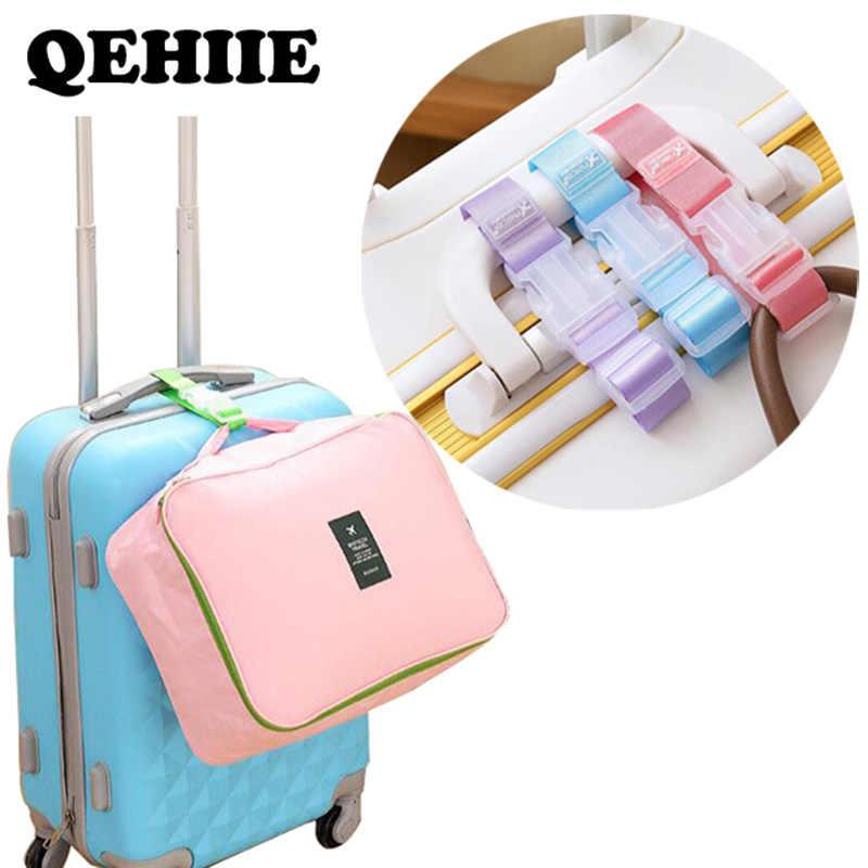 Регулируемая нейлоновая сумка с багажными аксессуарами подвесная пряжка с сумкой для чемодана с защитой от кражи