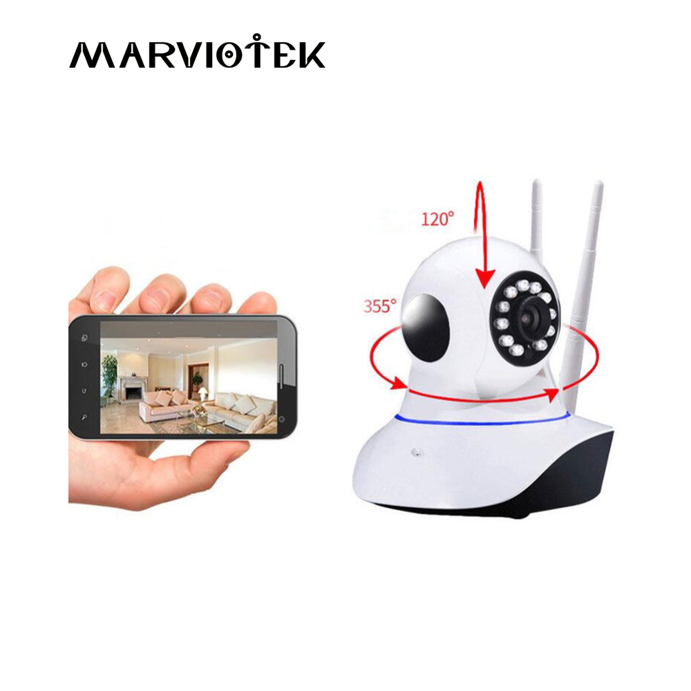 720P HD Baby Monitor WiFi Mini Wireless Camera Night Vision Surveillance Camera Home Security Camera P2P IP Camera Night Vision 720p hd wifi camera night vision p2p ip camera 1 0mp waterproof ir cuts surveillance camere for home security