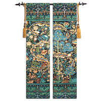 2pcs/Lot Tree of Life Tapestry High end Cotton Art Belgium Tapestry Wall Hanging Tapestries Wall Carpet Medieval Gobelin Fabric