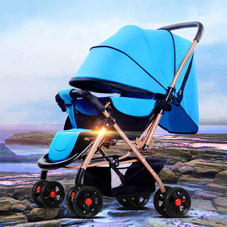 High Quality Baby Stroller Shockproof Foldable Baby Cart Widen Seat Comfortable Child Prams and Pushchairs Newborns Carriage e0980  high quality comfortable and