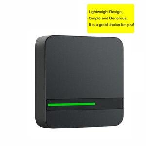 Image 5 - קורא RFID ארוך טווח 125 KHZ/13.56 MHZ בקרת גישה קורא קרבה כרטיס Wiegand 26/34 IP68 עמיד למים קטן IC כרטיס קורא