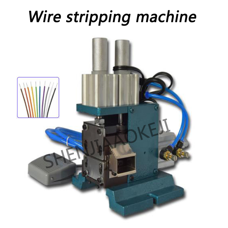 Vertical peeling machine Pneumatic stripping machine JL-3F 110V/220V Small wire and cable stripping machine 1pcVertical peeling machine Pneumatic stripping machine JL-3F 110V/220V Small wire and cable stripping machine 1pc