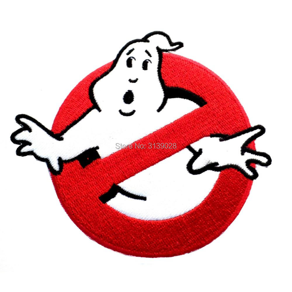 4 large ghostbuster ghost buster red logo crest badge tv movie rh aliexpress com 70s Rock Bands Logos Metal Band Logos Ideas
