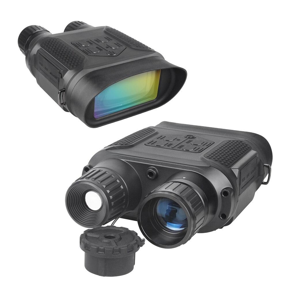 7x31 visión nocturna Binocular Digital infrarrojo Monocular caza Trail Scope telescopio 1280x720 p HD cámara de vídeo grabadora de 400 m