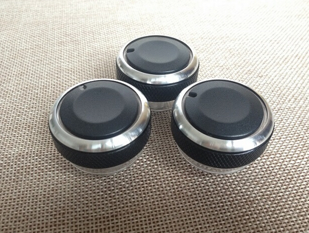 Aluminum Alloy Car Air conditioning conditioner Knob Control Button for Ford Mondeo 2009-2012