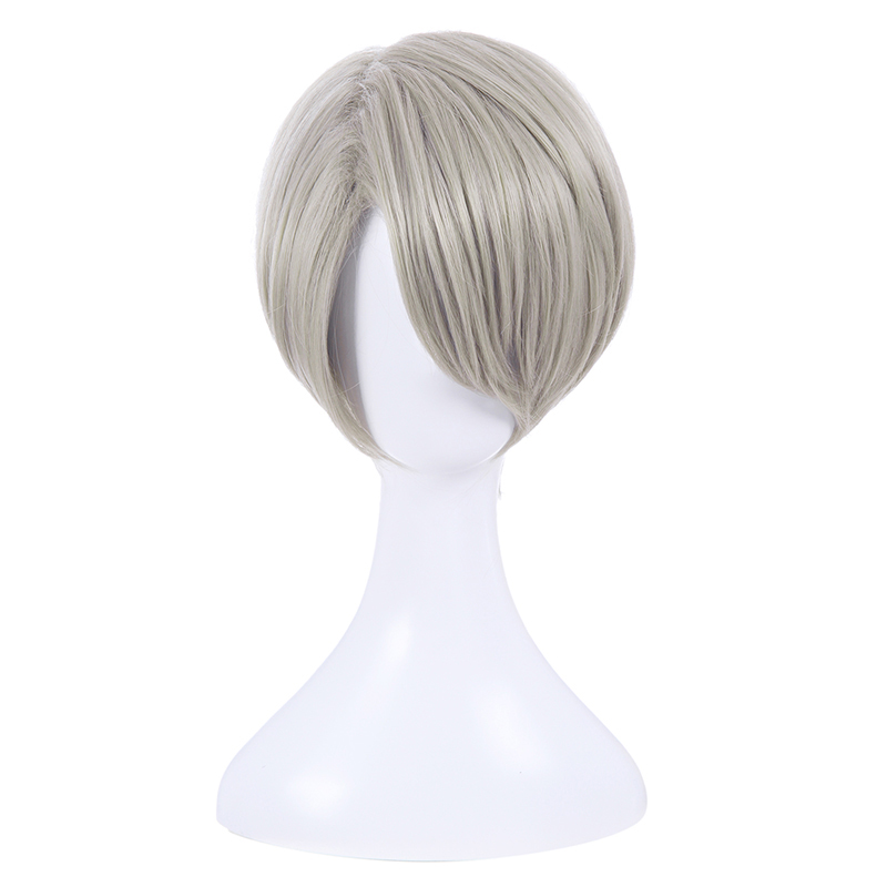 Image 2 - L email wig New YURI!!! on ICE Cosplay Wigs Yuri Katsuki Victor Nikiforov Yuri Plisetsky Short Synthetic Hair Cosplay Wigyuri   -