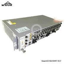 Цена Hua wei OLT GPON MA5608T AC, 1* MPWD линия питания Оптический Терминал, 1*1 г MUCD плата управления 8 или 16 портов
