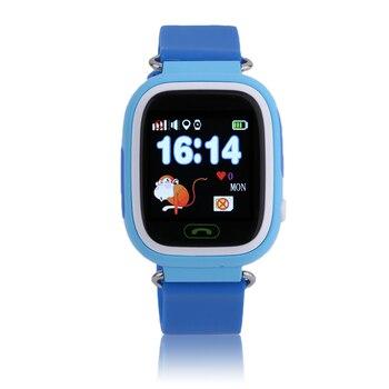 Детские Смарт-часы с сенсорным экраном Q90, gps, позиционирование, телефонный звонок, WiFi, против падений, водонепроницаемые, студенческие, детс...