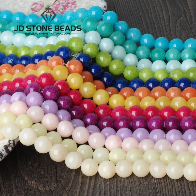 JD Stone Beads Free Shipping Colorful Cloud Jade DIY Hand made Fine jewelry Accessory GEM Stone Beads Accessory цена 2017