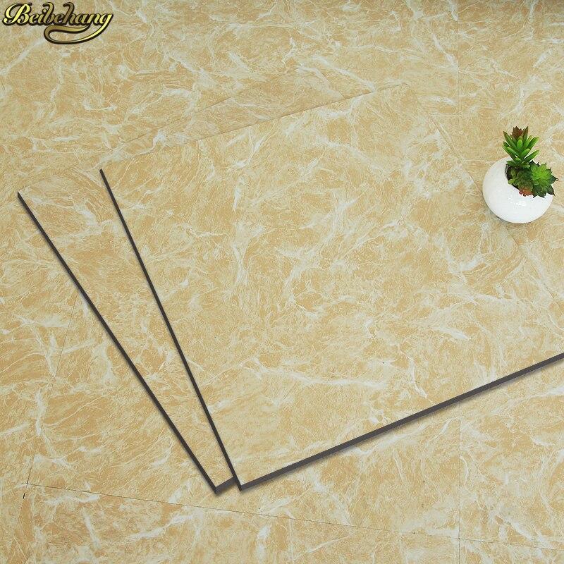 beibehang PVC self adhesive plastic floor plastic sticker affixe sheet plastic floor tiles wallpaper Wear resistant