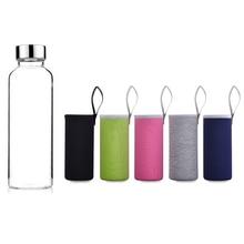 (Clearance Sale) Creative Bottle Glass Leak-Proof Drinkware Sport Glass Water Bottles Juice Bottle of Water Random Shipping