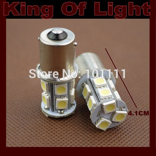 10x High quality led Car styling lighting s25 p21w ba15s 13SMD 1156 13 leds SMD 5050 turn signal light Free shipping