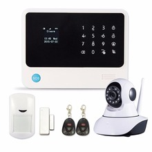 WiFi Security System Door Gap Sensor GSM Alarm System Home Alarm Security wireless IP camera