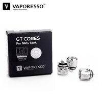 3pcs Lot Electronic Vape Accessory Vaporesso NRG Tank GT Coil GT4 GT8 0 15ohm Atomizer Replacement