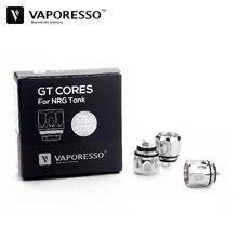 3 шт./лот vaporesso GT4 GT8 GT2 GT6 GT ccell Мститель катушки nrg Танк Замена VAPE core также подходят для stick v8 TFV8 ребенок бак