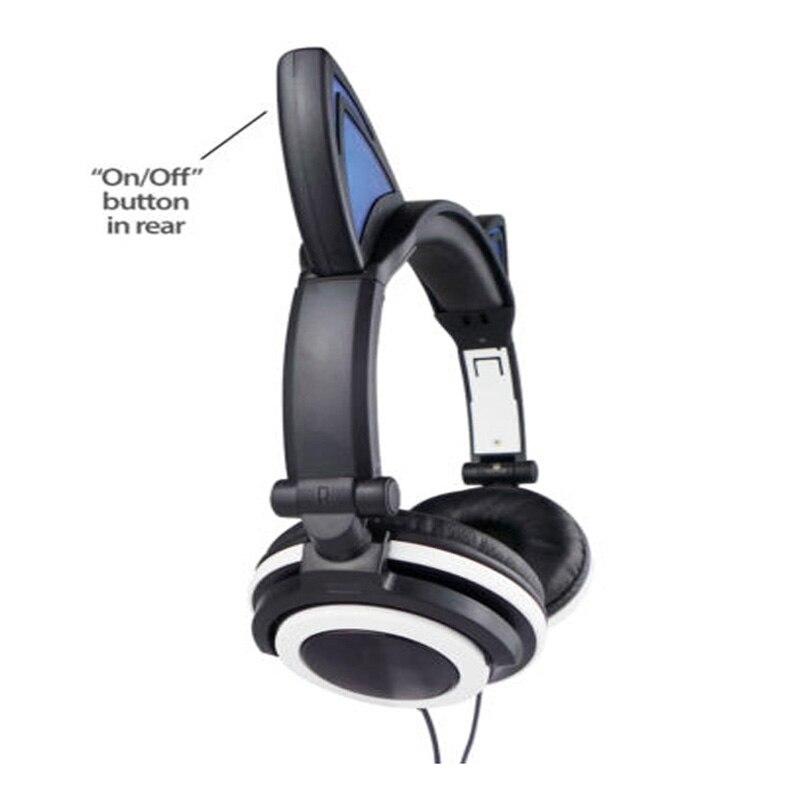 JINSERTA Cat Uši Slušalice s LED svjetiljkama za užaren nad ušima - Prijenosni audio i video - Foto 3