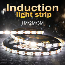Motion Sensor Led Strip Light DC 5V Diode Tape Neon Ribbon 1M 2M 3M Tiras Backlight TV Cabinet Stairs Night