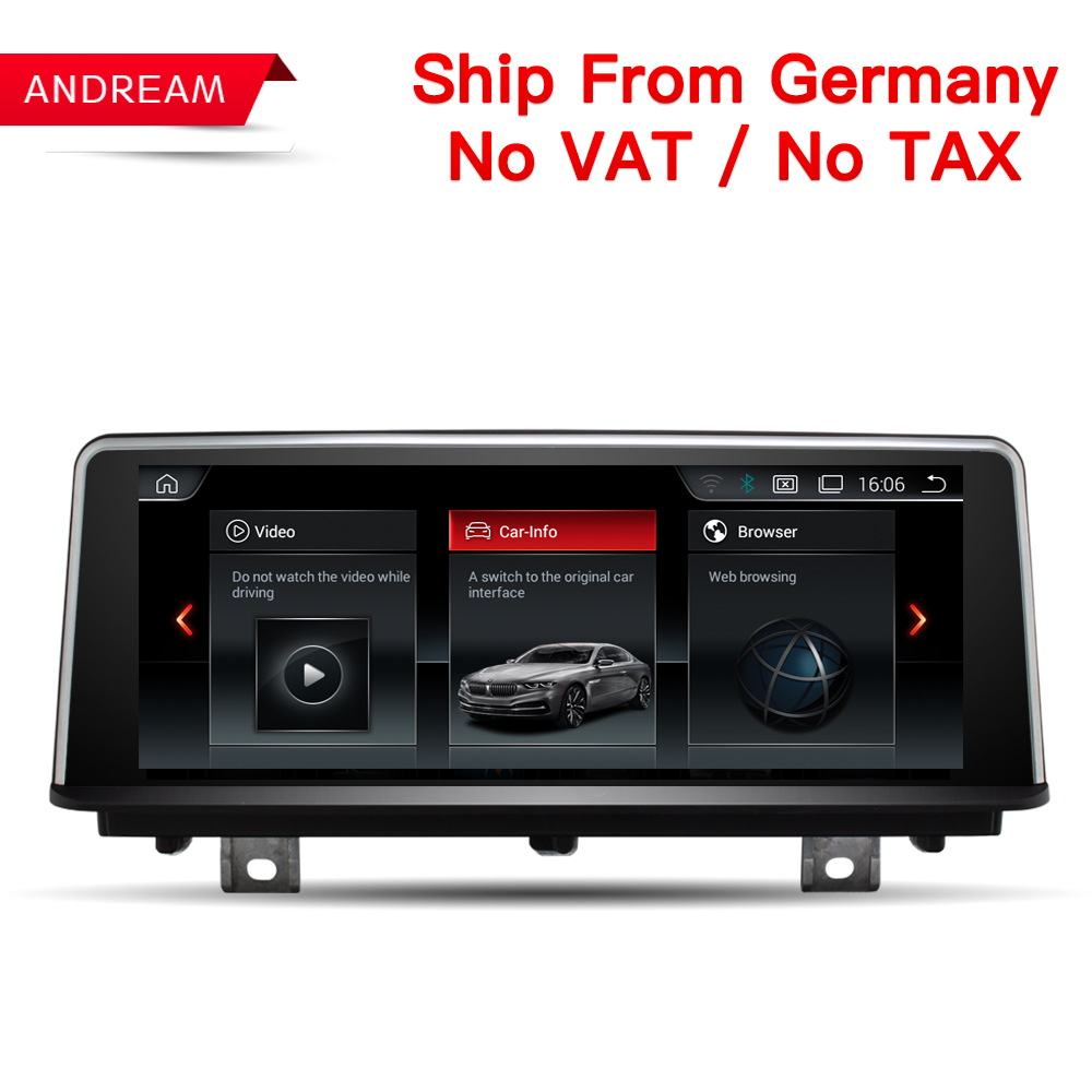 8.8 Quad Core Android 4.4 Car DVD for BMW Series 1 2  F20 F22 2011-2017 with WIFI Map GPS Navi Radio iDrive Steering wheel