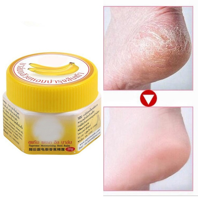 Nueva crema de talón agrietada para pies agrietados en seco áspero eliminar la piel muerta suaviza el pie agrietado cuidado