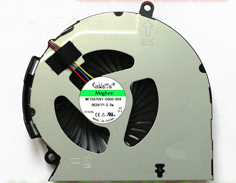 fan for HP 14 15 14-D 15-D 240 g2 250 g2 cpu cooling fan 747241-001 747242-001 747266-001 NFB75B05H-002 DFS551205ML0T FF77(China)
