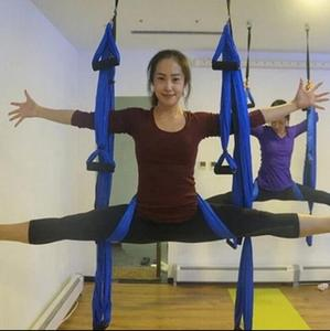 Image 5 - High Strength Decompression Hammock Inversion Trapeze Anti Gravity Aerial Traction Yoga Gym Swing Hanging 10 Colors