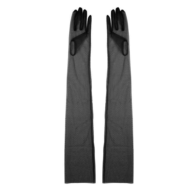 Sheer Tulle Gloves Ultra...