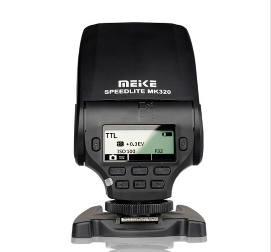 Mini Flash Speedlite MK-320C for Canon EOS 5D Mark II III 6D 7D II 60D 70D 600D 700D T3i T2 Hot Shoe DSLR Camera 2017 new meike mk 930 ii flash speedlight speedlite for canon 6d eos 5d 5d2 5d mark iii ii as yongnuo yn 560 yn560 ii yn560ii