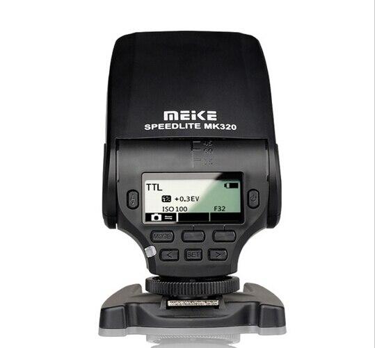 Mini Flash Speedlite MK-320C pour Canon EOS 5D Mark II III 6D 7D II 60D 70D 600D 700D T3i T2 appareil photo reflex numérique à chaussures chaudes