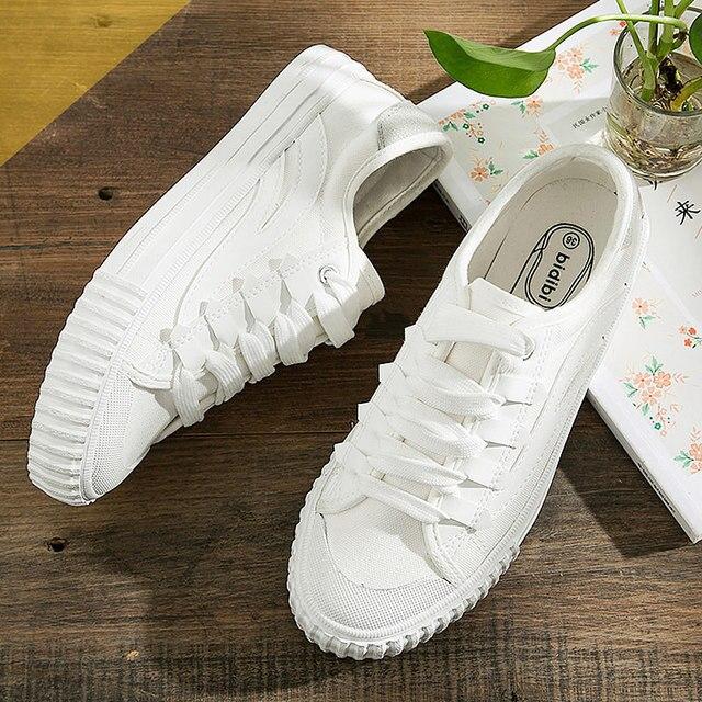 sale retailer 5a6b9 9a5a4 Canvas shoes woman 2018 new ladies breathable Female shoes tenis feminino  Women shoes sneakers Plus Size