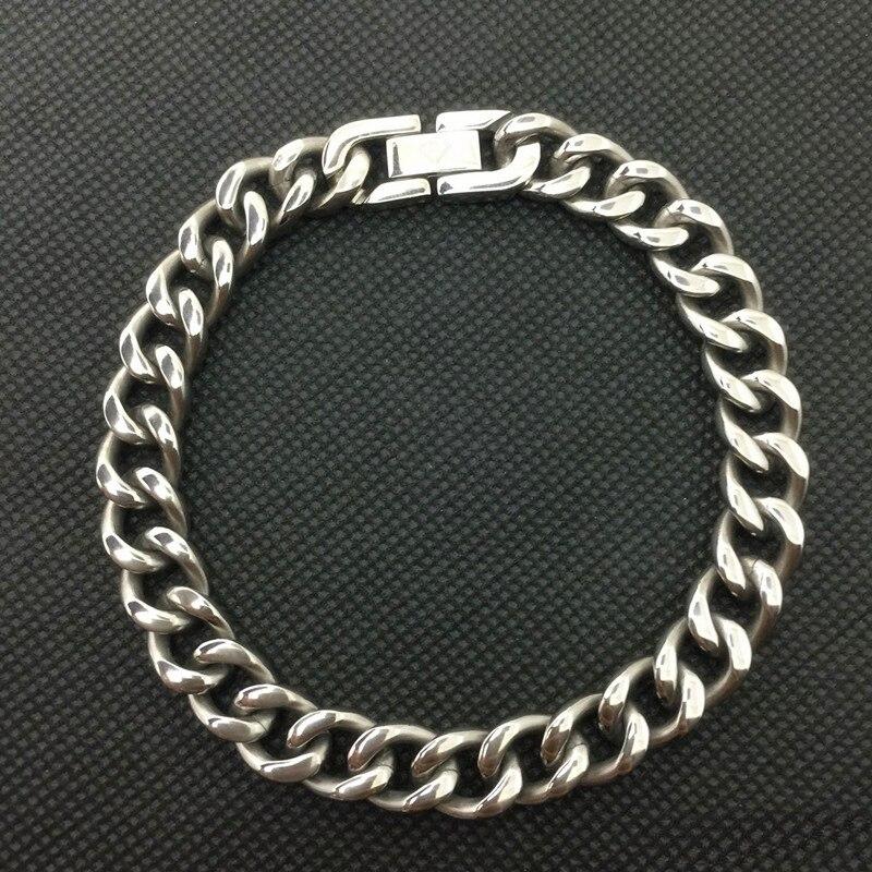 EDC 99.9% Pure Titanium Bracelet Does Not Rust, Does Not Fade, Sports Pure Titanium Bracelet why the world does not exist