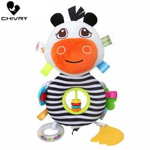 Chivry Baby Cow Rattles Toys New Infant Baby Plush Toy Bed Wind Chimes Newborn Kids Crib Stroller Bed Hanging Bells Teether Toys 46cm giraffe rabbit bed bells infant toy ultra long hanging giraffe baby toys rattle bed bells toys 20% off