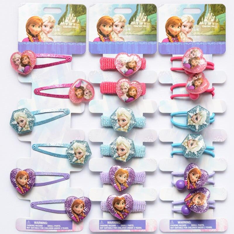 Elsa Anna Princess Shiny hair clip cute s