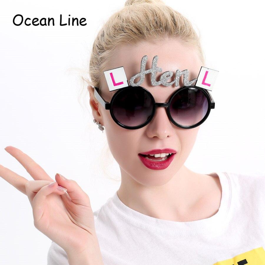 Lesklý stříbrná slepice bachelorette strana kostým make-up brýle nevěsta být ozdobný šaty rekvizity noční událost strana dodávky dekorace  t