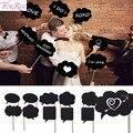 FENGRISE 10 шт. реквизит для фотостудии свадебное украшение мини доска Свадебные вывески милый подарок на день рождения