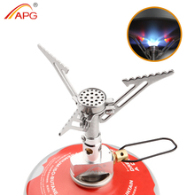 APG outdoor camping stove and portable gas burner best mini camping equipment backpacking stove