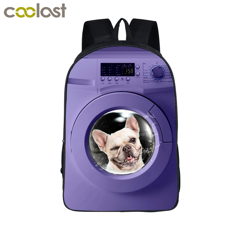 Detail Feedback Questions about 3D Dog Backpacks for Teenagers funny Boys  Backpack School Bags cute Animal School backpack for a girl on  Aliexpress.com ...