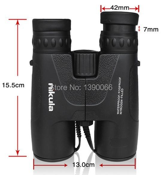 High Definition font b binoculars b font 8x42 waterproof Fogproof Nitrogen filled binocolo Telescope for nature