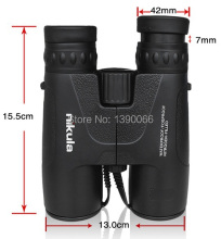 High Definition binoculars 8×42 waterproof Fogproof Nitrogen-filled binocolo Telescope for nature observing fishing